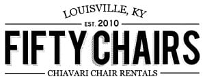 fiftychairs_logo black on white