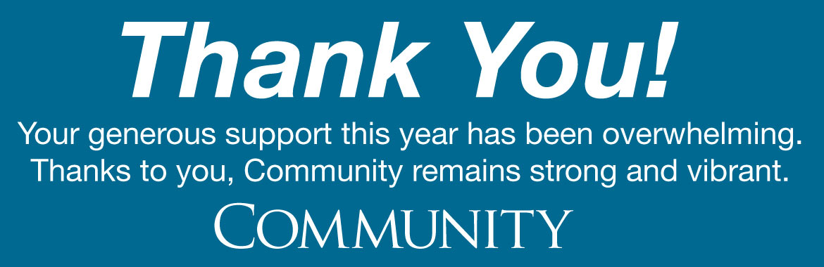 Community Thank You To Supporters Jewish Community Of Louisville