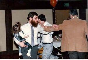 Tatty Dancing at Purim Party