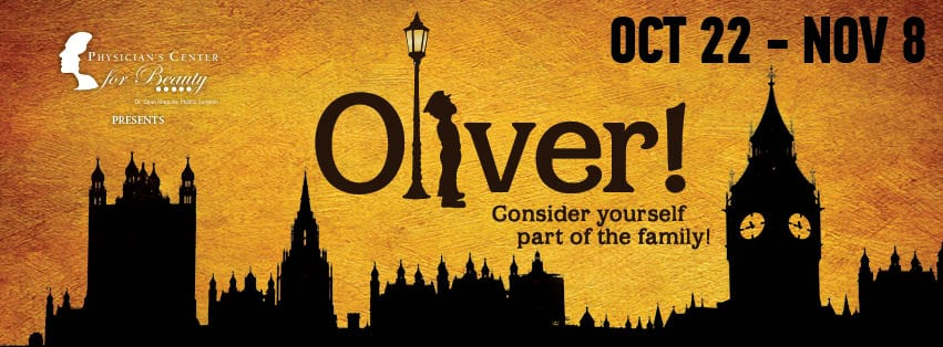 """Oliver!"" presented by CenterStage and Physician's Center for Beauty"