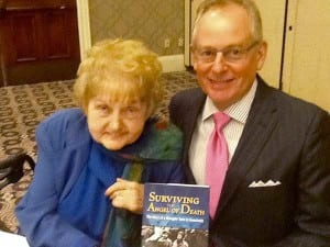 Eva Kor and Ken Grossman