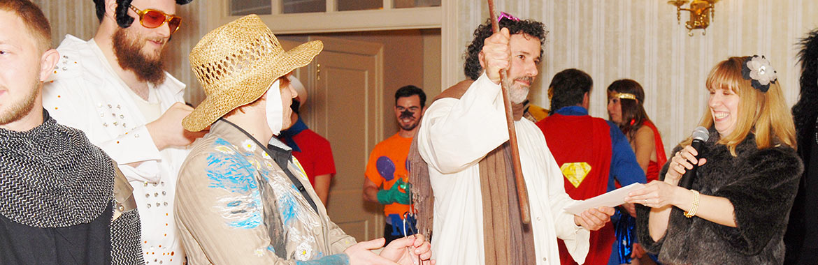 YAD Mixes Purim Fun, Murder Mystery and Campaign