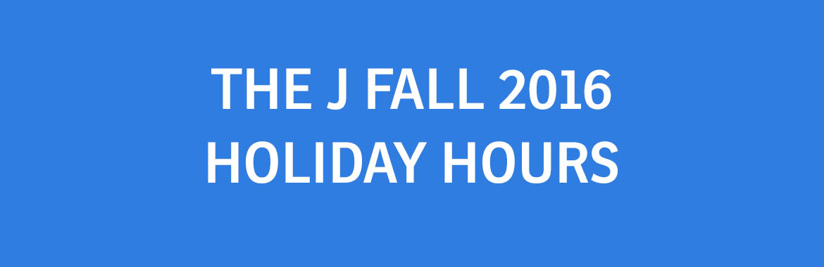 Fall Holiday Hours