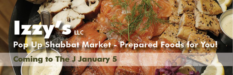 Pop-Up Shabbat Market Will Open in January