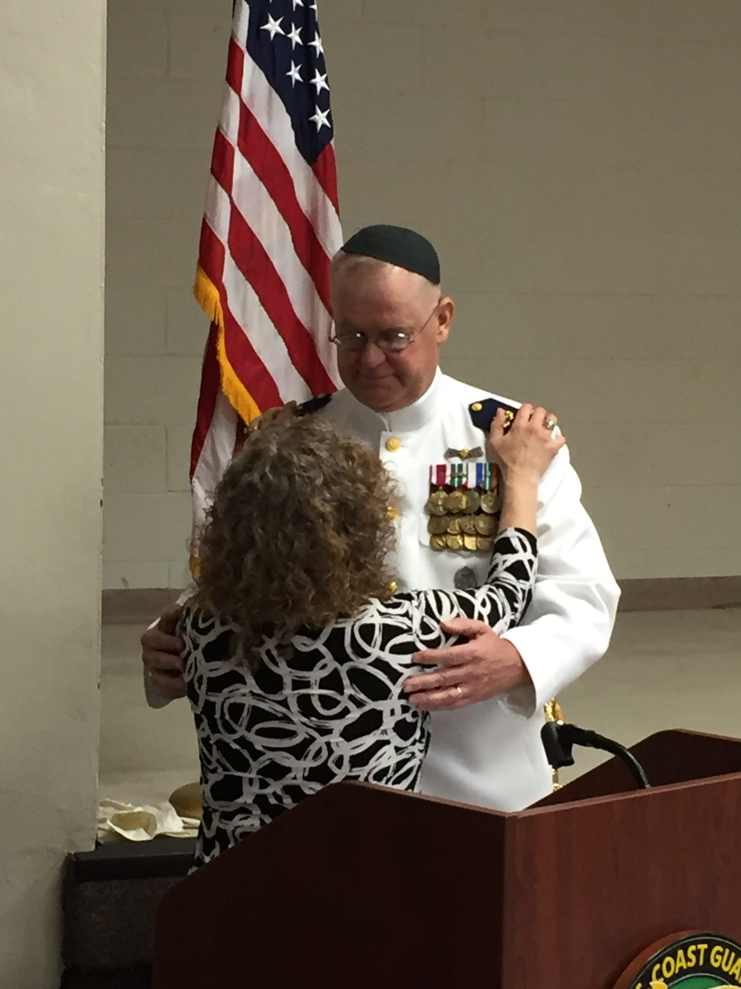 James Todd, 9-11 hero, retires from Coast Guard | Jewish Community