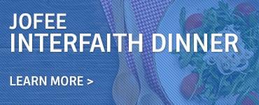 JOFEE Interfaith Dinner November 2017