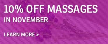 November Massage Callout