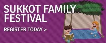 Sukkot Family Festival callout