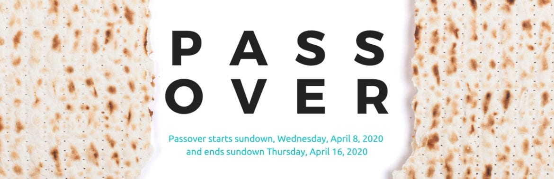 Passover 2020 header