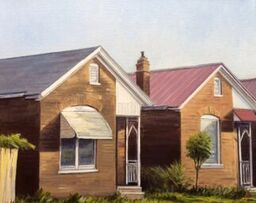 Artist Alexander Taylor, Southern Houses