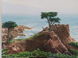 2f. Ronald Anderson_The Lone Cypress